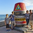 Southernmost Point marker, Key West,  USA — Stock Photo