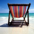 Stock Photo: Chair at the beach