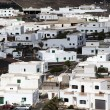 View to rural village of Uga in Lanzarote — Stock Photo