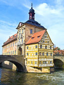 In the old town of Bamberg — Stock Photo