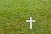 Modesta tomba di robert kennedy, nel cimitero nazionale di arlington, ar — Foto Stock