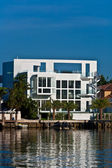 Waterfront miami downtown, güzel evler — Stok fotoğraf