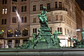 Providentia Fountain in vienna — Stock Photo