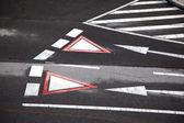 Pedestrian crossing — Zdjęcie stockowe