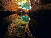 Cueva de Los Verdes in Lanzarote — Stock Photo