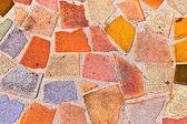 Mosaik с плитки дает красивый красочный рисунок — Стоковое фото