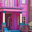 Stock Photo: Pink Southern Mansion
