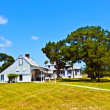 Stock Photo: Old typical historic farmhouse