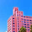 Beautiful historic buildings in Miami in the Art deco district — Stock Photo #5671188