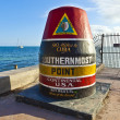 Stock Photo: Southernmost Point marker, Key West, USA