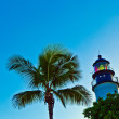 Lighthouse from Key West in Florida — Stock Photo
