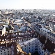 View over Vienna in snow — Stock Photo