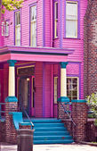 Pink Southern Mansion — Stock Photo