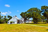 Old typical historic farmhouse — Stock Photo