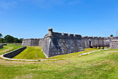 Castillo de San Marco - ancient fort in st. augustine florida — Stock Photo