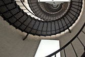 Beautiful iros stairs in lighthouse — Stock Photo