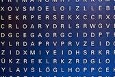 Letra en la pared — Foto de Stock