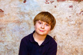 Portrait of a cute young boy — Fotografia Stock