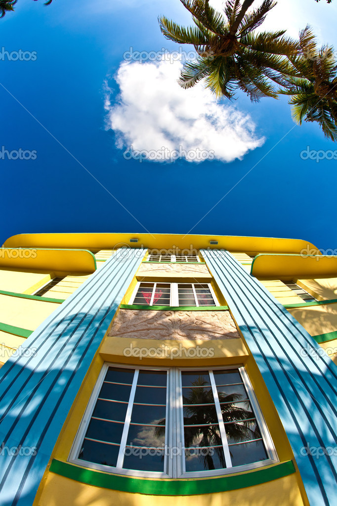 art deco buildings in miami. Art deco architecture at ocean