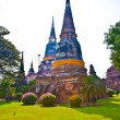 Temple of Wat Yai Chai Mongkol in Ayutthaynear Bangkok, Thaila — Stock Photo #5686555