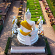 Buddhstatues at temple of Wat Yai Chai Mongkol in Ayutthay — Stock Photo #5686697