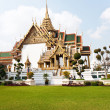 Phra Tinang Aporn Phimok Prasat Pavillion in the Grand Palace - Stock Photo