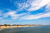 Beautiful beach at the outer banks in america — Stock Photo