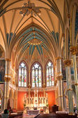 Catholic church in Savannah — Stockfoto