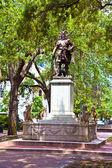 Memorial savannah için genel oglethorpe — Stok fotoğraf