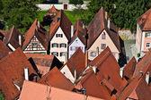 Dinkelsbuehl cidade medieval na Alemanha — Fotografia Stock