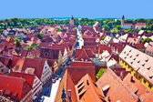 View to romantic city of Dinkelsbuehl — Stock Photo