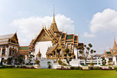 Phra Tinang Aporn Phimok Prasat Pavillion in the Grand Palace — 图库照片