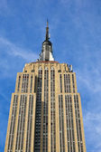 Facade of Empire State building in New York — Stock Photo