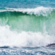 Heavy waves at beach - Stockfoto