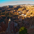 Royalty-Free Stock Photo: Beautiful landscape in Bryce Canyon with magnificent Stone forma