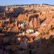 Beautiful landscape in Bryce Canyon with magnificent Stone forma - Stock Photo