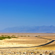 Royalty-Free Stock Photo: Driving on the Interstate 187 in Death valley direction Badwater