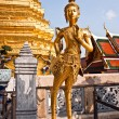 Foto Stock: Kinaree, mythology figure, is watching temple in Gra