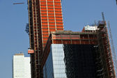 Rascacielos en construcción — Foto de Stock