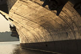 Aircraft carrier as museum in New York — Stockfoto