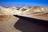 Artists Drive road, Death Valley National Park — Foto Stock