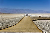 Badwater, deepest point in the USA — Stock Photo