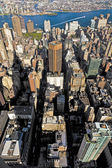 View from Empire state building to New York — Stock Photo