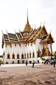 Phra Tinang Aporn Phimok Prasat Pavillion in the Grand Palace — Стоковое фото