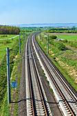 High speed train in open area — Стоковое фото
