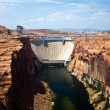 Glen canyon Dam in Page — Stock Photo