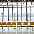 Waiting hall at the airport - Foto Stock