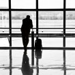 Man waiting for departure of his flight — Stock Photo #5795735
