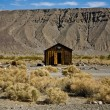Jailhouse of Ballarat, a ghost town in Inyo County - Foto Stock