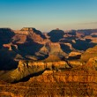 Fantastic view into the grand canyon from mathers point, south r — Stock Photo